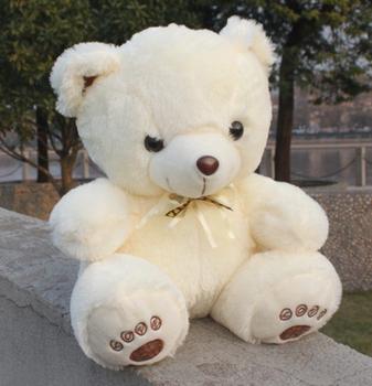2013 New Beige Giant Big Plush Teddy Bear Soft Gift for Valentine Day Birthday Kid Gift