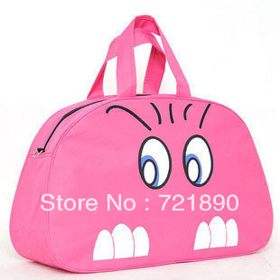 Free shipping!large capacity travel bag,blue cat bag,shipping bag(China (Mainland))
