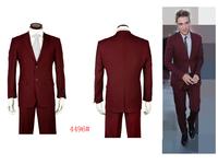 2014 Free Shipping brand blazer men hot selling men red business suit terno masculino handsome men tuxedo suits for men