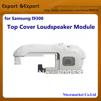 Replacement  top cover loudspeaker module For Samsung i9300 Galaxy S3 top cove white spare part FREE SHIPPING