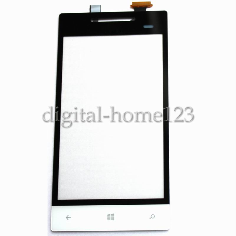 New Touch Screen Digitizer For HTC Windows Phone 8S A620e A620t Rio White(China (Mainland))