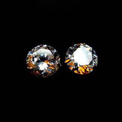 Rome the simulation Diamond classic explosive flash 3 claw earrings jewelry male(China (Mainland))