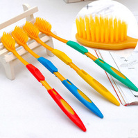 Hot-selling nano resin double layer wool toothbrush 0.06 one set 4piece as photo shows