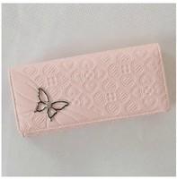 Free Ship 2013 Long Butterfly Purse Money Clips Change Bag Women's Handbag Wallet