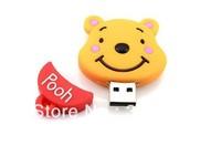 Wholesale Hot Cheap Enough Cartoon Model4GB 8GB 16GB 32GB 64GB USB 2.0 Flash Memory Stick Drive