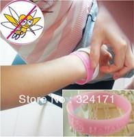 wholesale 100pcs/lot Guaranteed 100% Repeller wrist Bracelet / Mosquito Repellent hand ring
