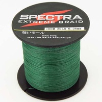 Free shipping !!!  4 strands 100M 20LB high quality  braided fishing line .green