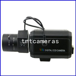 700tvl High Resolution 1/3&quot; Sony CCD Effio-E DSP 6-60mm Auto IRIS CS Lens Security CCTV Video Box Color Camera OSD Free Shipping(China (Mainland))