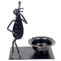 Delicate iron band gift ashtray home office furnishing articles free shipping