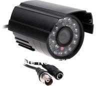 Wholesale  700tvl CMOS IR-CUT Filter Indoor/Outdoor Waterproof 22pcs IR Night Vision Video Security CCTV Camera,50 black shell