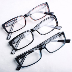 Free shipping Myopia Eyeglasses frame fashion optical glasses vintage male Women plain mirror belt lenses glasses P99(China (Mainland))