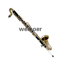 High Quality Low E Bass Clarinet, free shipping
