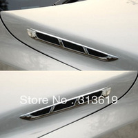 Exhaust pipe car tuyeres decoration stickers modified car intaglios refires decoration outlet