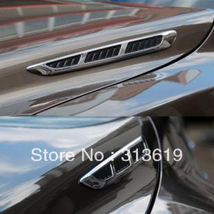 Car decoration tuyeres engine cover tuyeres refit car stickers tuyeres cover tuyeres