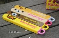 1pcs resell Rilakkuma Bear tableware Dinnerware sets chopsticks for lunch supper meals retail in box