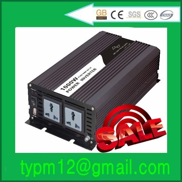 Free shipping !Power inverter generator solar 1000w pure sine wave 24VDC to 120VAC(China (Mainland))