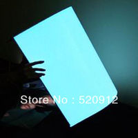 100% Guaranteed  Standard size A3  El panel Blue  BackLight Board Display with DC 12V Inverter