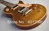 best china guitar Traditional Gold top FANTASTIC Electric Guitar OEM Musical Instruments Free