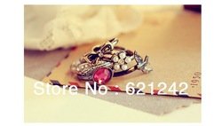 Min.Order$15 HOT HOT Punk RingC031Vintage Love Magic Power Rings Triangle Ring Free Shipping US New arrival Jewelry(China (Mainland))