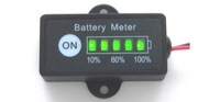 Wholesale 48V Battery Fuel Gauge Indicator For 48V Lead-Acid Battery SLA,AGM,GEL,VRLA Battery  Packs Free Shipping