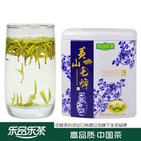 Tea premium huangshan mao feng tea advanced green tea yellow tips buxus gift box place of production