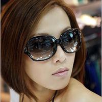 Sun glasses female sunglasses female sunglasses large sunglasses glasses 3043