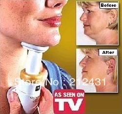 Tv product manual massage device neckline chin massager