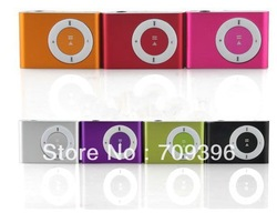 MINI Usb metal mp3 clip,music player,support top 8gb micro sd card! 10pcs/lot,free shipping(China (Mainland))