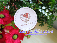NEW! Wholesale Lovely Round Seal Label Sticker 'Homemade' Cute Bake Sticker with Berry Cake (1000pcs) Free shipping