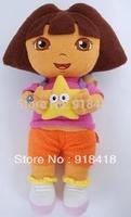 Free shipping 30cm/12inch Genuine love adventure Dora Dora stuffed doll star baby doll gifts for children on sale