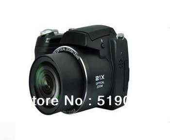 Free Shipping,DSL digital camera newest Digital single Iens reflex with Sony 16.0MP CMOS sensor+8G SD card DC-2100