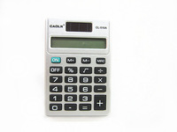 Hot! Easily Home use 10pcs/lots mini general purpose calculator cl510a pocket-size computer 8digit battery power supplier F.Ship