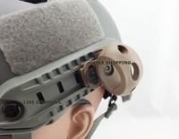 OPS -CORE Single Clamp FAST tactical helmet MICH tactical helmet side rail flashlight fixture DE