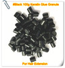 Free Shipping 100G #Black Keratin Glue Bead/Granule For Human Hair Extension Tools In Salon