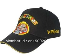Free shipping New style VR46 doctor  F1 car team motorcycle fashion brand cotton  baseball football adjustable hat cap