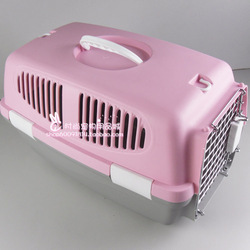 B010012 kittens puppydom pet aviation box dog flight case aviation cage aircraft cage check box(China (Mainland))