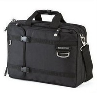 2014 Seconds Kill Sale Men Solid Nylon Free Shipping Numanni 355 Notebook Sleeve One Shoulder Handbag Backpack Laptop Bag Male