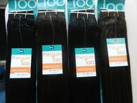 "Wholesales-premium too human hair premium too hair extensions straight human hair 16"" #2 Free Shipping"