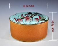 New arrival 2013 cake box extra large tea caddy storage tank home decoration achievo