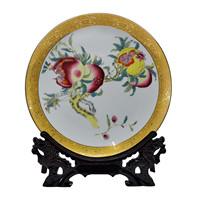 Achievo ceramic decoration plates hanging plate crafts decoration home