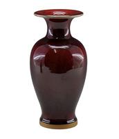Achievo small vase decoration ceramic vase jun porcelain glaze vase at home decoration crafts