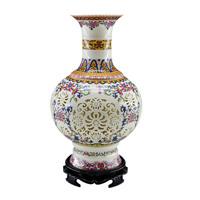 Achievo jingdezhen ceramic vase home decoration bamboo modern decoration