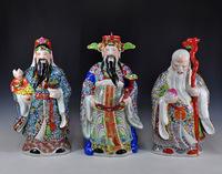 Handmade porcelain sculpture froude shouson SAMSUNG lucky decoration 2013 mascot furnishings