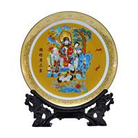 Achievo home ceramic decoration plates froude shouson crafts supplies decoration