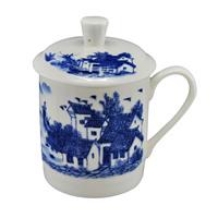 Achievo ceramic guzhici cup tea set cup office cup seniority gift
