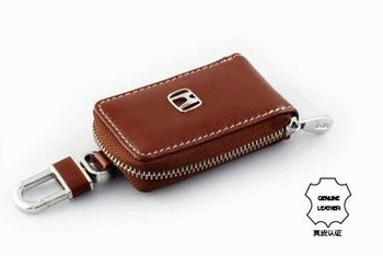 Car real leather skylight Key case For R-V CIVIC Accord CITY Fit Odyssey