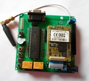Gsm tc35i microcontroller development board relay control module belt lcd12864 interface