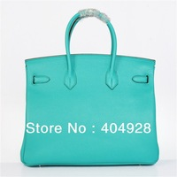 H 35cm -30cm  fashion  women  LITCHI genuine  leather  handbag women's handle DESIGN bag   wholesale and retail