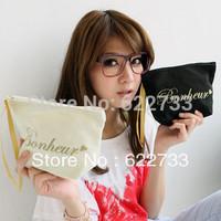 Hot-selling fashion key bag canvas cosmetic bag small bags