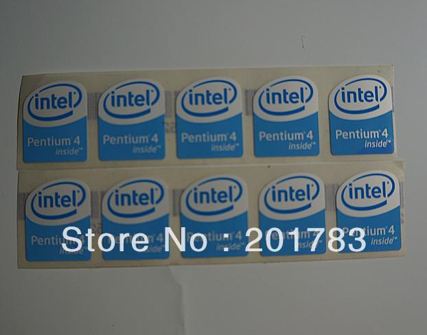 Intel Pentium Inside Sticker Intel Pentium 4 Inside